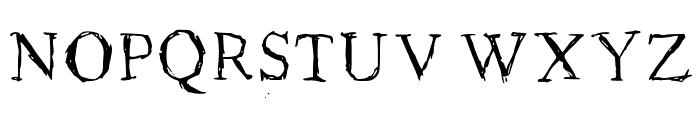 Roman New Times Medium Font UPPERCASE