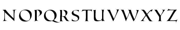 Roman SD Font UPPERCASE