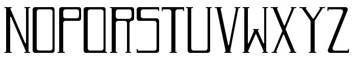 RomanDecoNormal Font LOWERCASE