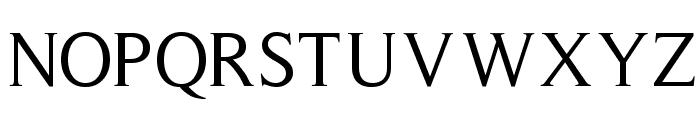 RomanSerif Font UPPERCASE
