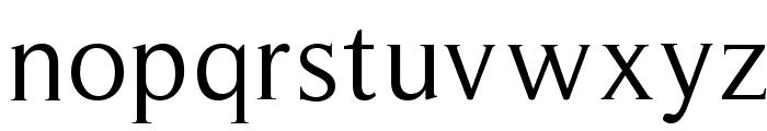 RomanSerif Font LOWERCASE