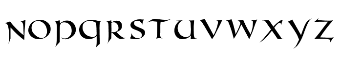 RomanUncialModern Font UPPERCASE