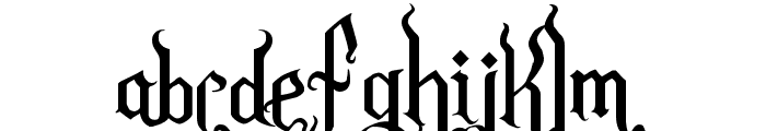 Romance Fatal Goth Premium Font LOWERCASE