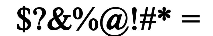 Romance Fatal Serif Std Bold Font OTHER CHARS