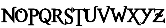 Romance Fatal Serif Std Bold Font UPPERCASE