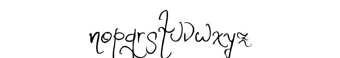 Romance Fatal W1G Font LOWERCASE
