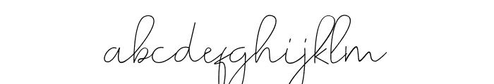 Romances Script Font Font LOWERCASE