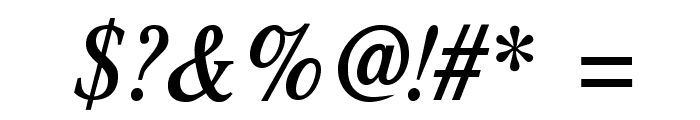 Romande ADF No2 Std Bold Italic Font OTHER CHARS