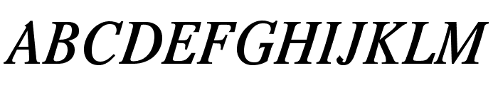 Romande ADF No2 Std Bold Italic Font UPPERCASE