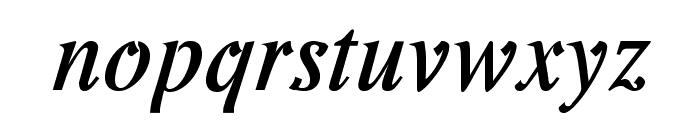 Romande ADF No2 Std Bold Italic Font LOWERCASE