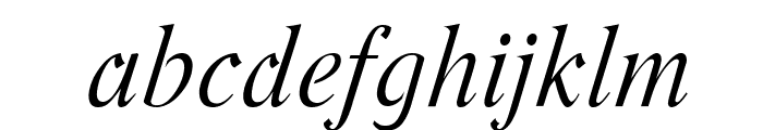 Romande ADF No2 Std Italic Font LOWERCASE