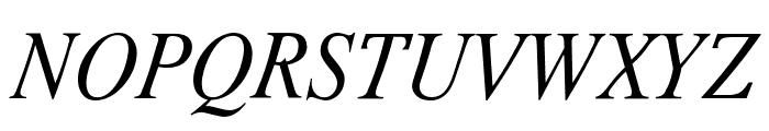 Romande ADF Std Italic Font UPPERCASE