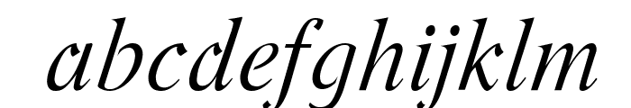 Romande ADF Std Italic Font LOWERCASE