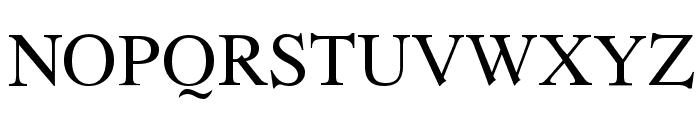 Romande ADF Std Regular Font UPPERCASE