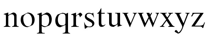 Romande ADF Std Regular Font LOWERCASE