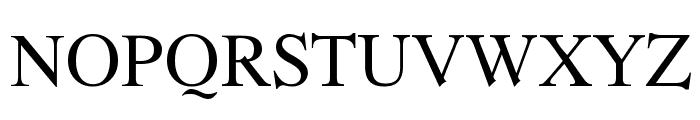 Romande ADF Style Std Regular Font UPPERCASE