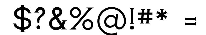 Romanesque Serif Regular Font OTHER CHARS