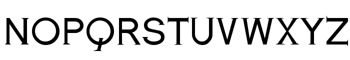 Romanesque Serif Regular Font UPPERCASE