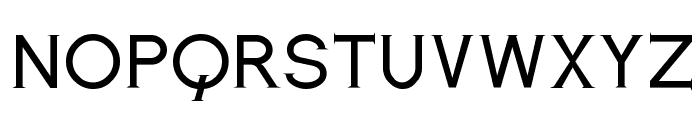Romanesque Serif Regular Font LOWERCASE