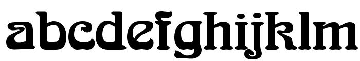 Romaneste Regular Font LOWERCASE