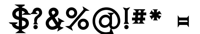 Romanicum-Bold Font OTHER CHARS