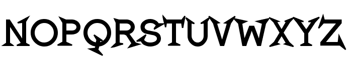 Romanicum-Bold Font UPPERCASE