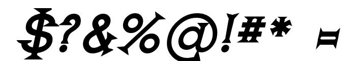 Romanicum-BoldItalic Font OTHER CHARS