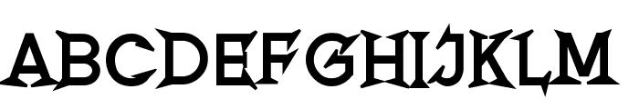 Romanicum-Bold Font LOWERCASE