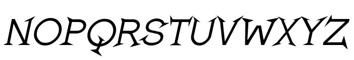 Romanicum-Italic Font LOWERCASE