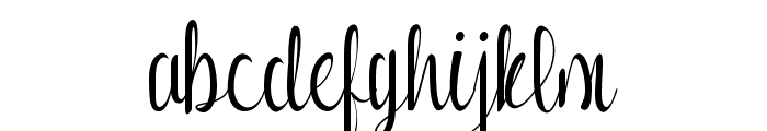Romansha Font LOWERCASE