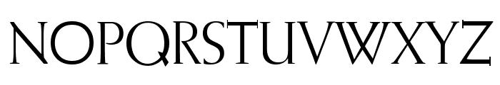 Romantha Font UPPERCASE