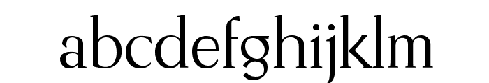 Romantha Font LOWERCASE