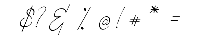 Romantic Couple Font OTHER CHARS