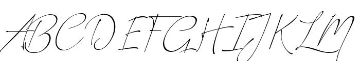 Romantic Couple Font UPPERCASE