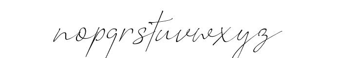 Romantic Couple Font LOWERCASE