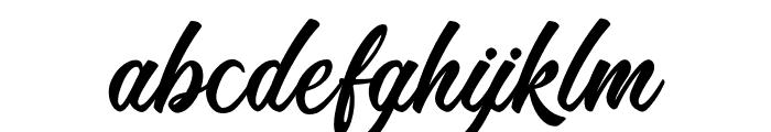 RomanticBeach Font LOWERCASE