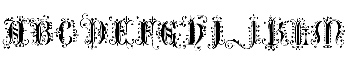 Romantically Yours Font UPPERCASE