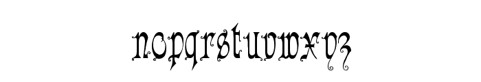 Romantically Yours Font LOWERCASE