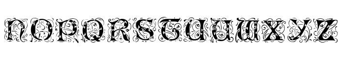 Romantik Font UPPERCASE
