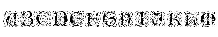 Romantik Font LOWERCASE