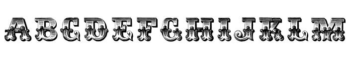 Romantiques Font LOWERCASE
