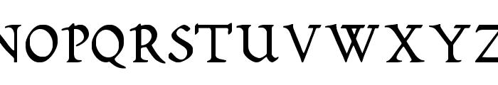 Romeodn Font UPPERCASE