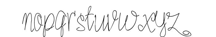 Romer#1 Font LOWERCASE