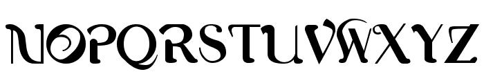 Romerati Font UPPERCASE