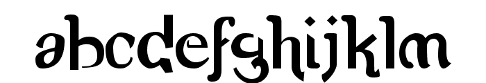 Romerati Font LOWERCASE