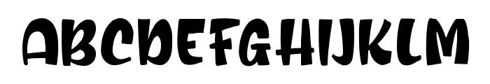 Romie Shine Regular Font UPPERCASE