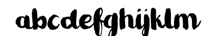 Romkugle DEMO Regular Font LOWERCASE