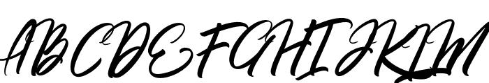 Rommantis Font UPPERCASE