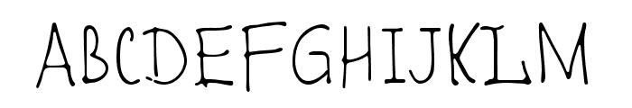 Romochka Font UPPERCASE
