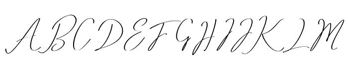 Romtthing Free Font UPPERCASE